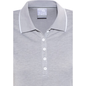 Craft In-The-Zone Polo Pique Shirt Women grey melange